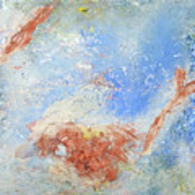 In The Beginning Poster by Deborah Boyd