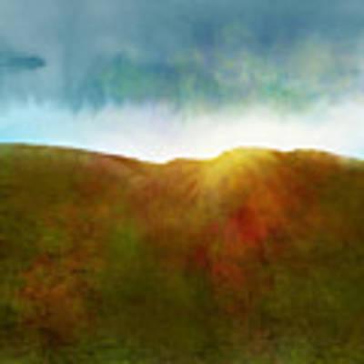 It Began To Dawn Poster by Antonio Romero
