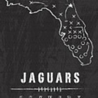 Jacksonville Jaguars Art - Nfl Football Wall Print Poster by Damon Gray