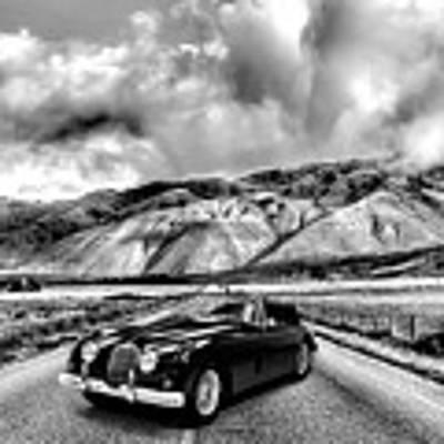 Jaguar Xk150 1960 Poster