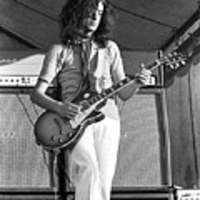 Led Zeppelin Jimmy Page '69 Poster