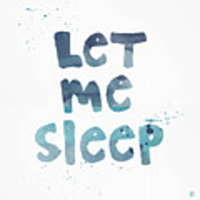 Let Me Sleep  Poster