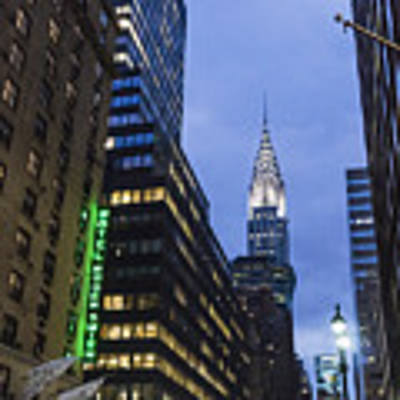 Lexington Avenue, Chrysler Building, New York  Poster by Juergen Held
