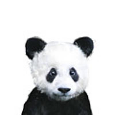 Little Panda Poster by Amy Hamilton