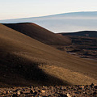 Mauna Kea Or Mars? Poster by Jennifer Ancker