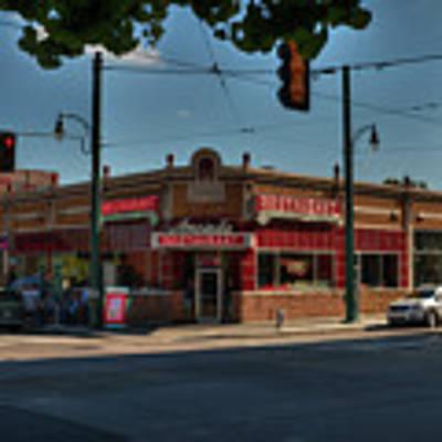 Memphis - Arcade Restaurant 001 Poster by Lance Vaughn