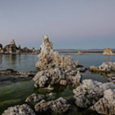 Mono Lake At Dusk Poster by Margaret Pitcher