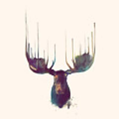 Moose // Squared Format Poster