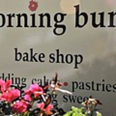 Morning Buns Bake Shop Poster by Kim Bemis