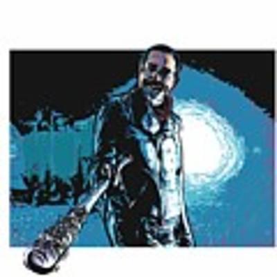 Negan Poster by Antonio Romero