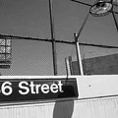 New York City Subway 86 Street Poster by Ranjay Mitra