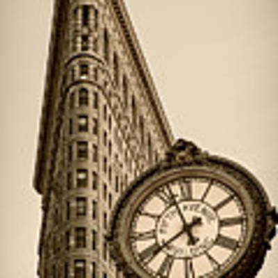 New York Flatiron Poster by Juergen Held