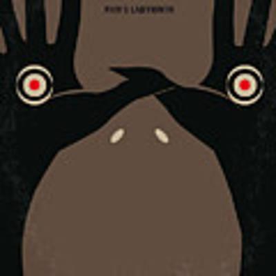 No061 My Pans Labyrinth Minimal Movie Poster Poster by Chungkong Art