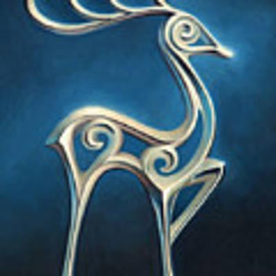 Oh Deer Poster by Joe Winkler