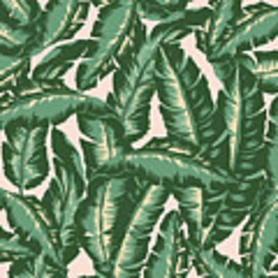Palm Print Poster by Lauren Amelia Hughes