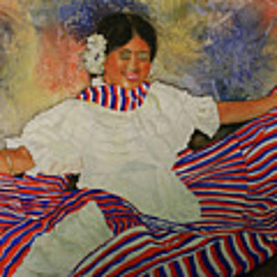 Panama Dancer Poster by Jean Blackmer