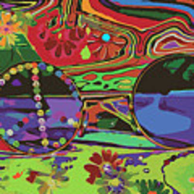 Peace Art Poster by Eleni Mac Synodinos