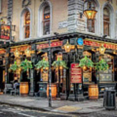 Plough Pub London Poster by Adrian Evans