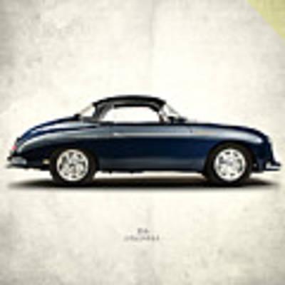 Porsche 356a 1958 Poster