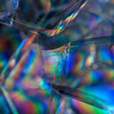 Rainbow In A Bubble Poster by Yogendra Joshi