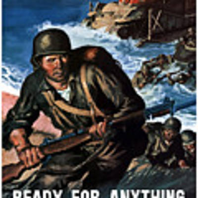 Ready For Anything - Thanks To You Poster