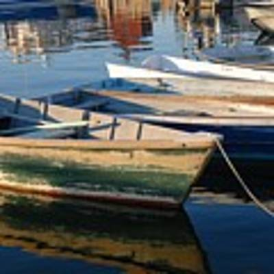 Rockport Dinghies Poster by AnnaJanessa PhotoArt