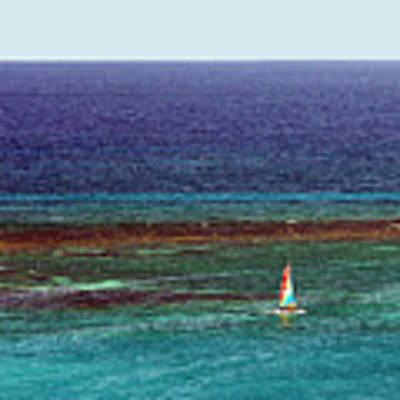 Sailing Day Poster by Karen Zuk Rosenblatt