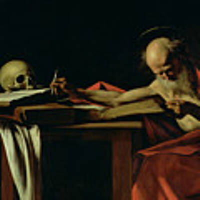 Saint Jerome Writing Poster