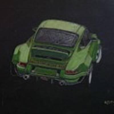 Singer Porsche 2 Poster by Richard Le Page