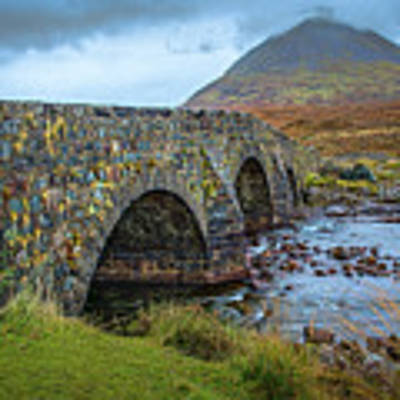Sligachan Bridge View #h4 Poster by Leif Sohlman