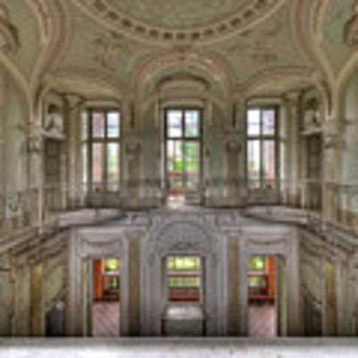 Stucco Villa - Villa Degli Stucchi I Poster by Enrico Pelos