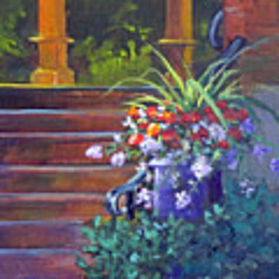 Summer Flowers Poster by Judy Fischer Walton