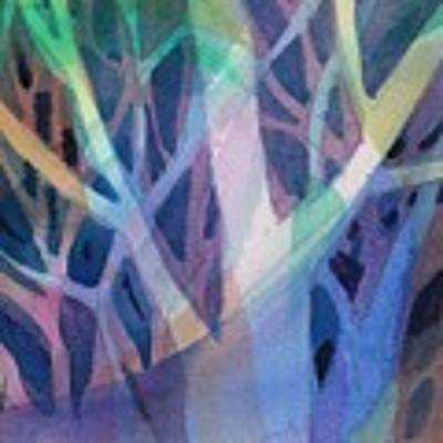 Sunset Branches Poster by Carolyn Utigard Thomas