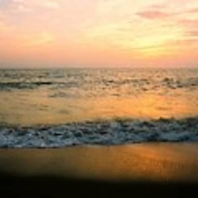 Sunset On Captiva Poster by AnnaJanessa PhotoArt