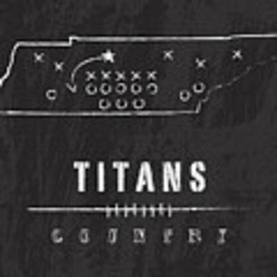 Tennessee Titans Art - Nfl Football Wall Print Poster