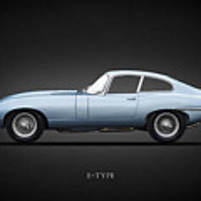 The 65 E-type Coupe Poster