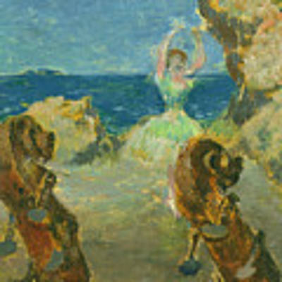 The Ballet Dancer Poster