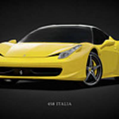 The Ferrari 458 Poster