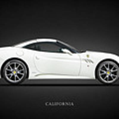 The Ferrari California Poster