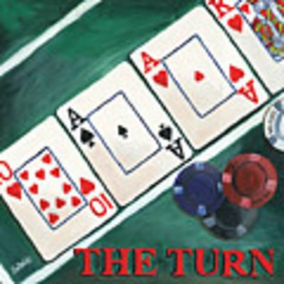 The Turn Poster by Debbie DeWitt