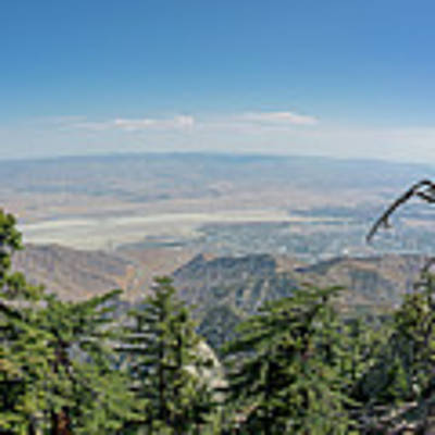 View From Mount San Jacinto Poster by Ross G Strachan