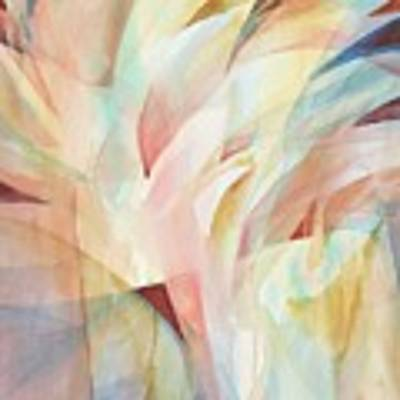 Warm Rays Poster by Carolyn Utigard Thomas