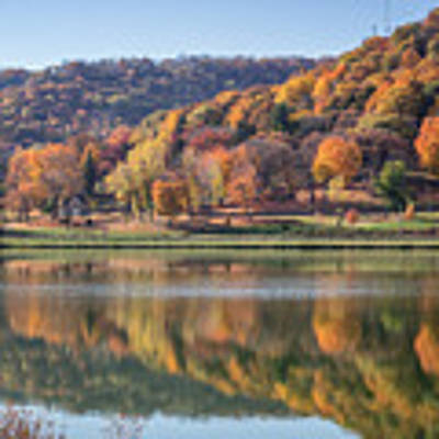 West Lake Winona With Woodlawn 2x3 Poster by Kari Yearous