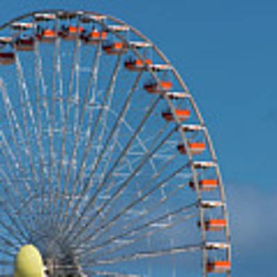 Wildwood Ferris Wheel Poster by Jennifer Ancker