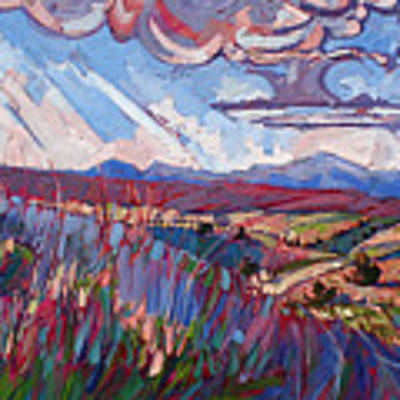 Windswept Plains Poster by Erin Hanson