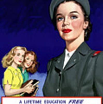 Ww2 Us Cadet Nurse Corps Poster