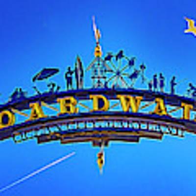 The Boardwalk Poster by Paul Wear