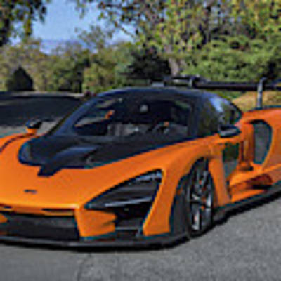 #mclaren #senna #print Poster by ItzKirb Photography