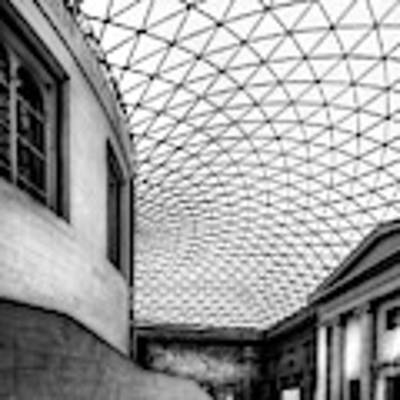 British Museum Poster by Adrian Evans
