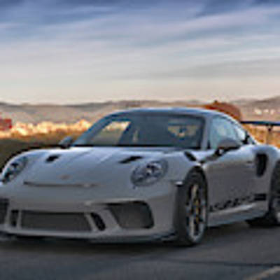 #porsche 911 #gt3rs #print Poster by ItzKirb Photography